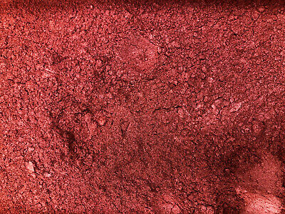 10g RED EARTH MICA - Soap Candle Polymer Clay Making Colour Mineral Powder