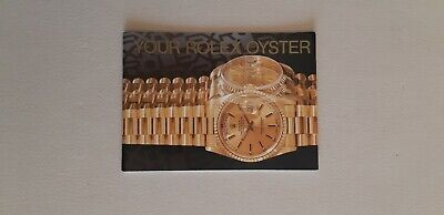 Booklet Your Rolex Oyster Anno 2000 Eng