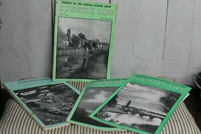 Vintage Country Life Magazines Social History Adverts Country Houses Original 4