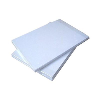 100 Sheets A4 Dye Sublimation Heat Transfer Paper Iron on Inkjet T-shirt Print