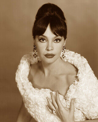 Leslie Caron French American Actress Dancer Hollywood Movie Star Sepia Photo
