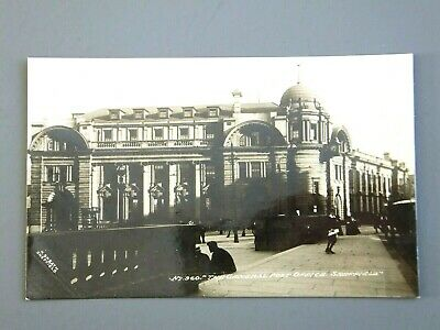 R&L Postcard: Sheffield General Post Office Fitzalan Square Real Photo R Sneath