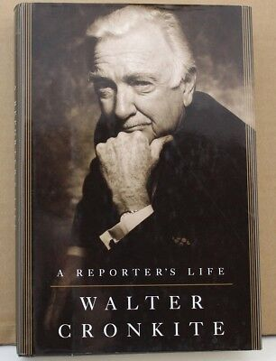 WALTER CRONKITE Signed Book