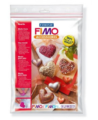 Staedtler Stampo Clay Moulds Fimo 26-Cuori