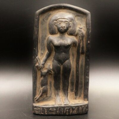 Rare Antique Ancient Egyptian Stone Statue Figure