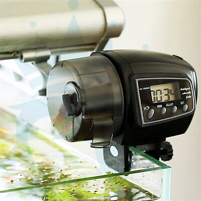 Automatic Aquarium Fish Feeder Digital LCD Timer Food Feeding Electronic Timer