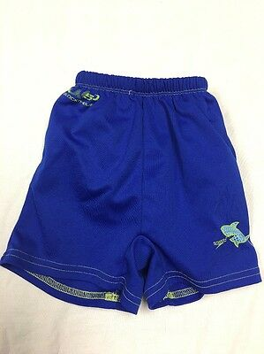 Boys Blue UV50+ Speedo Swim Diaper Trunks Size Large 18 Months