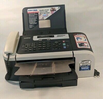 Brother IntelliFAX 1860C SuperG3 33.6kbps Color Fax Copy Machine