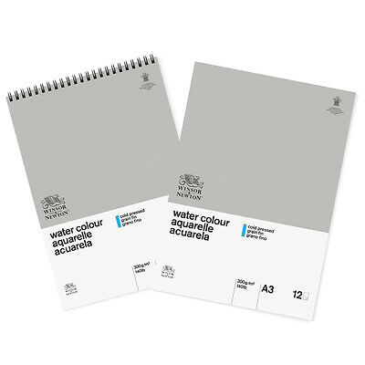 Winsor & Newton Classic Water Colour Paper Pad Cold Pressed 300gsm A3