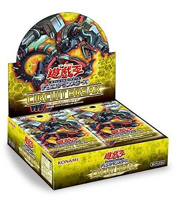 Yu-gioh Yu-gi-oh Duel Monsters Circuit Break Card Box Japan with Tracking NEW