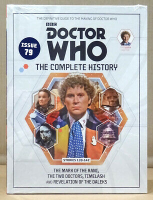 Doctor Who Complete History Issue 79 Volume 41 Mark of the Rani  *NEW & SEALED*
