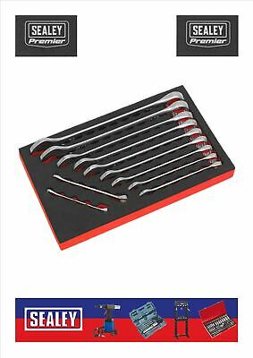 SEALEY 11pc Imperial cold stamped spanner set