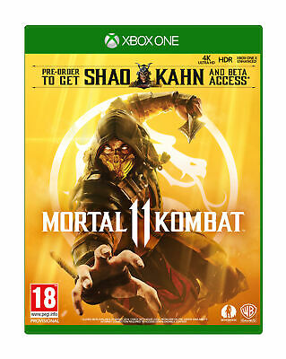 Mortal Kombat 11 with Shao Khan & Beta Access - MK11 (Xbox One)