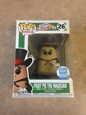 Funko POP Ad Icons Fruit Pie The Magician #26 / Exclusive / Brand New / In Hand