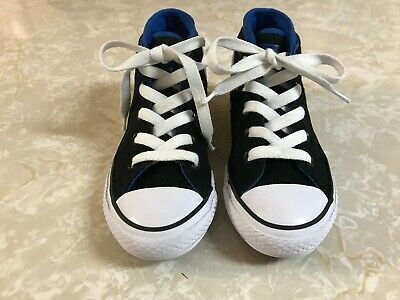 f0c028031c60 LITTLE BOYS CONVERSE Chuck Taylor All Star Syde Street Mid Sneakers ...