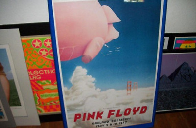 PINK FLOYD Animals Concert Promotional Poster Randy Tuten (1977) Authentic MINT!