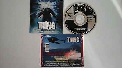 ENNIO MORRICONE (soundtrack) -  The Thing   CD 1982