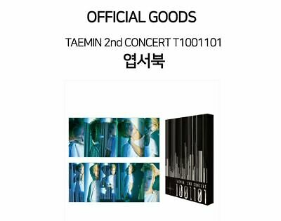 TAEMIN SHINEE 2nd CONCERT T1001101 OFFICIAL GOODS POSTCARD BOOK SEALED