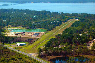 1.25 AC WATERFRONT,Gated Fly-In Community,W/Private Air Strip,FL/ PreForeclosure
