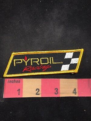 Advertising Sponsor PYROIL RACING Motor Oil Car Race Patch 80NT