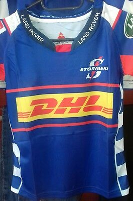 e55193fc0a2 Stormers South Africa Super Rugby Kids Home Jersey 2018 Size 6-12yrs
