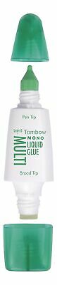 Tombow Liquid glue Multi Talent width two tips display PK10 - PT-MTC-10P