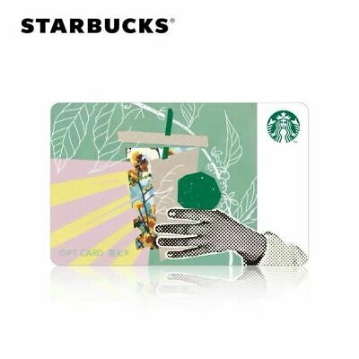 2019 Starbucks China Spring Is Blossoming SR Kits Used Card