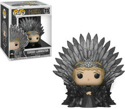 Game Of Thrones - Cersel Lannister Sitting On Iron - Funko Pop (2019, Toy NUEVO)