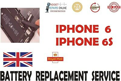 iPhone 6/6 Plus 6s / 6s Plus Battery Repair Service - Replaced