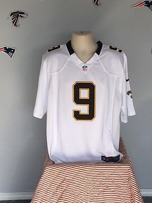 best sneakers a99ec 51044 NEW ORLEANS SAINTS #9 Drew Brees Jersey X-Large(44) All ...