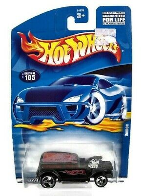 Vintage Hot Wheels Cars Demon Die Cast Metal Vehicle Collectible Free Shipping