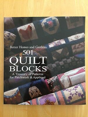 Better Homes and Gardens: 501 Quilt Blocks by Better Homes and Gardens