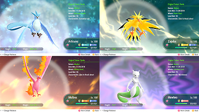 Pick Any Shiny (All 171) Mew Melmetal Max 6 Iv Max Av Pokemon Let's Go!