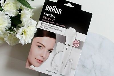 Braun Face Spa Cleansing Brush and Mini Epilator Beauty Edition Xmas