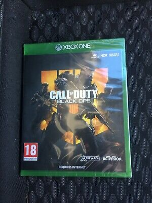 Call Of Duty Black Ops 4 Xbox One ( Brand New And Sealed)