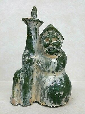 Chinese Han Dynasty Style Ceramic Glazed Figure