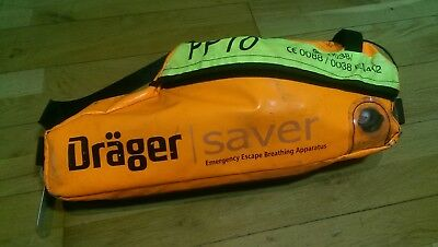 Drager Saver PP10 - Emergency Escape Breathing Apparatus (Soft Case) 0A0