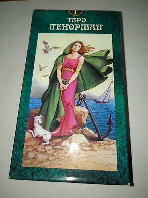 Maria Lenormand Oracle High Quality Tarot 78 Cards Deck Russian Таро Ленорман