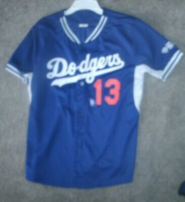 c01729def VINTAGE MLB LOS Angeles LA DODGERS Baseball BIKE Jersey Shirt size ...