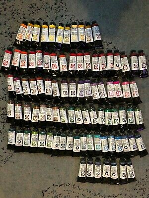 Brand New Huge Lot Of 90 Daniel Smith Water Colors 15ml