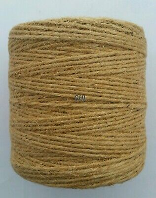 10m-900M Metre Natural Brown Shabby Rustic Twine String Shank Craft Jute 3ply