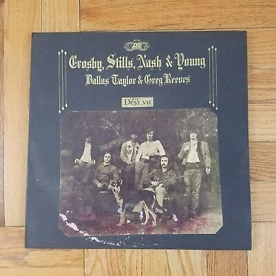 CROSBY STILLS NASH & YOUNG DEJA VU CSNY 1970 US 1st pressing LP VG+