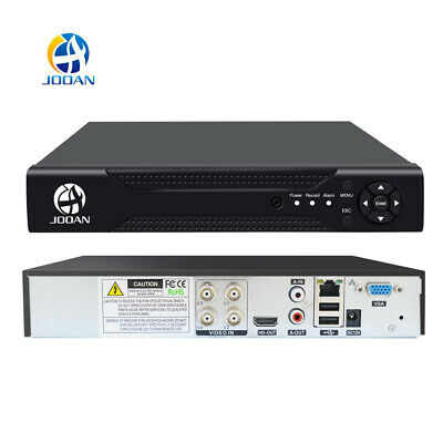 JOOAN H.264 4CH 5in1 1080N DVR Video Recorder Home Security System Email Alert