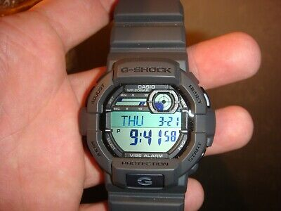 Casio G-Shock Men's Quartz Digital Grey Resin Sport 53.5mm Watch GD350-8