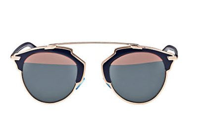 a1bd5703445 Christian Dior Sunglasses   Dior So Real   Navy Blue   Rose Gold   BRAND NEW