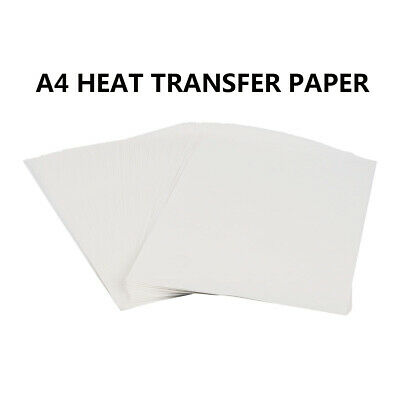 A4 IInkjet Print Heat Transfer Sublimation Paper Craft T-shirt 100 Sheets