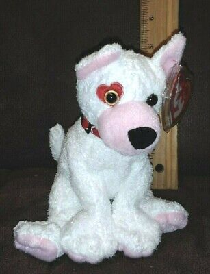 86704f94e27 TY Beanie Baby - CUPID the Dog Patch Right Eye RARITY   VALENTINE GIFT
