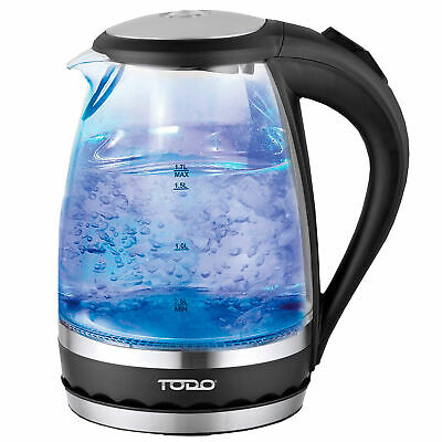 NEW 1.5L Cordless Glass Kettle - Todo,Small Appliances