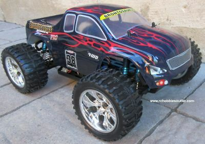RC Monster Truck Brushess Electric 1/10 PRO LIPO 2.4G 4WD 88050 1 Year Warranty