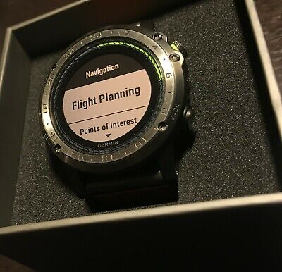 a0c4a037d14 GARMIN D2 DELTA - Black with Brown Leather Band - GPS -  999.00 ...